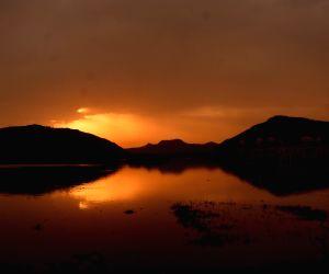Man Sagar Lake - Sunrise