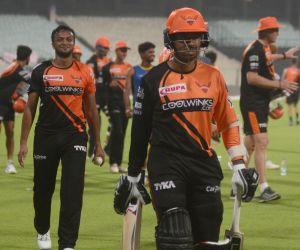 Sunrisers Hyderabad's practice session