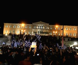 GREECE ATHENS DEBT CRISIS REFERENDUM