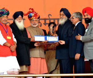 Modi launches 'Soil Health Card scheme'