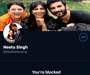 Free Photo: Sushant's sister Shweta alerts about fake Twitter account in eldest sister Neetu's name