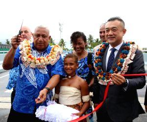 FIJI-SUVA-CHINA-AIDED BRIDGES-OPEN