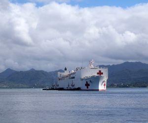 FIJI SUVA AMERICAN HOSPITAL SHIP VISIT
