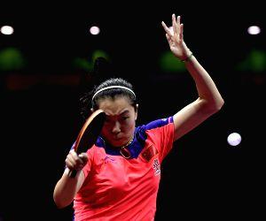CHINA SUZHOU TABLE TENNIS WORLD CHAMPIONSHIPS WOMEN'S SINGLES SEMIFINAL