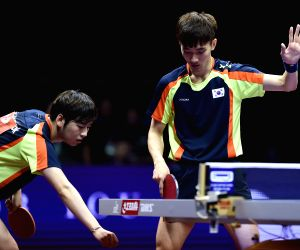 CHINA SUZHOU TABLE TENNIS WORLD CHAMPIONSHIPS MEN'S DOUBLES SEMIFINAL