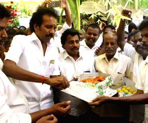 Karunanidhi's birthday celebrations