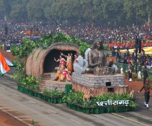Republic Day Parade 2018 - Chhattisgarh