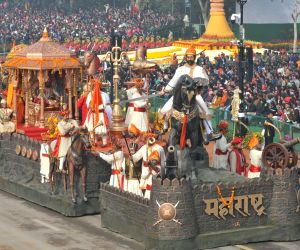 Republic Day Parade 2018 - Maharashtra