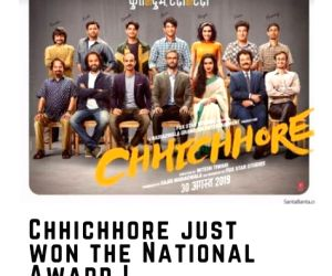 Tahir Raj Bhasin remembers Susant as 'Chhichhore' wins National Award