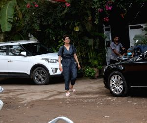 Tahira Kashyap, wife of actor Ayushmann Khurrana seen at Versova, in Mumbai on June 12, 2019.