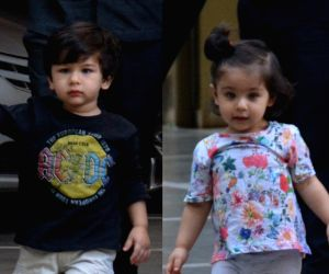 Taimur and Inaaya