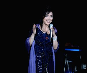 Chyi Yu performs in Taipei