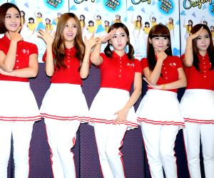 """Crayon Pop"" performs"