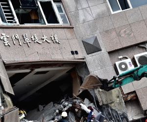 CHINA HUALIEN EARTHQUAKE MAINLAND TOURISTS