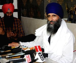 Jathedar Gurmukh Singh's press conference