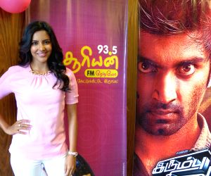 Tamil movie 'Irumbu Kuthirai' audio launch stills