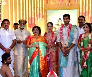 Soundarya-Vishagan wedding