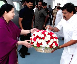 Chennai:  J Jayalalithaa at TN Legislative Assembly