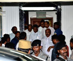 Panneerselvam meets Karunanidhi