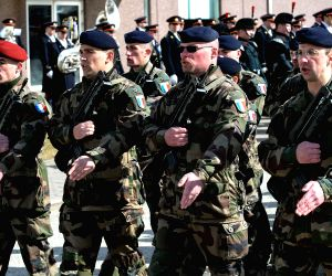 ESTONIA TAPA NATO BATTALION SERVICE