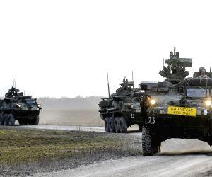 ESTONIA TAPA NATO U.S. TROOPS