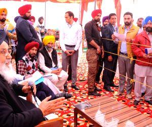 Tarn Taran: Punjab CM during Sangat Darshan programme