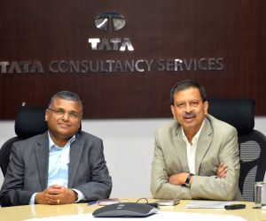 Tata Consultancy Services press conference