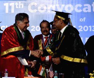Ratan Tata during convocation of a Chennai college