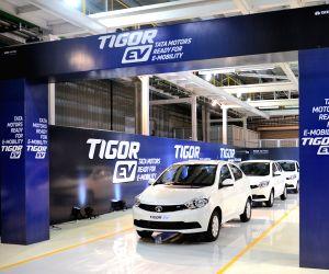 Tata Motors rolls out first Tigor EV