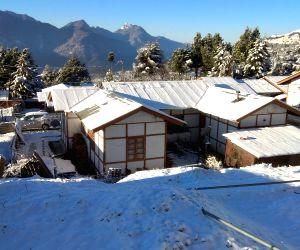 Tawang (Arunachal): Snowfall