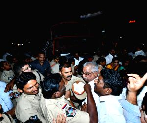 N. Chandrababu Naidu, other TDP leaders detained