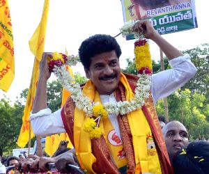TDP MLA Revanth Reddy released from Cherlapally Central Jail