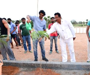 Baahubali team took part in Haritha Haram Programme