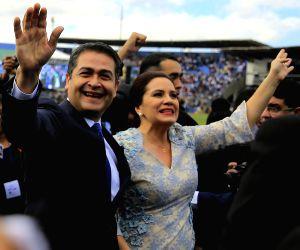 HONDURAS TEGUCIGALPA POLITICS PRESIDENT