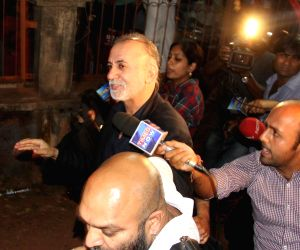 Tarun Tejpal arrives in Goa
