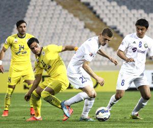IRAN-TEHRAN-AFC CHAMPIONS LEAGUE-NAFT VS PAKHTAKOR
