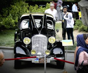 A classic car exhibition