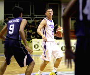 IRAN-TEHRAN-BASKETBALL-FIBA ASIA U18 CHAMPIONSHIP 2016-CHINESE TAIPEI VS INDIA