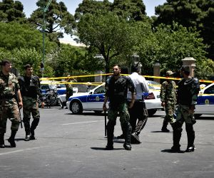 IRAN TEHRAN PARLIAMENT SHOOTING SITE