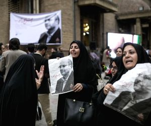 IRAN-TEHRAN-PRESIDENTIAL ELECTION-MOHAMMAD BAQER QALIBAF-CAMPAIGN RALLY
