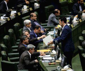 IRAN TEHRAN PARLIAMENT INTERIM SPEAKER