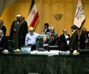 IRAN TEHRAN PARLIAMENT SPEAKER RE ELECTED