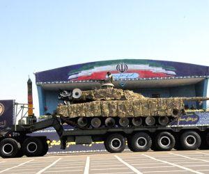 IRAN TEHRAN IRAQ WAR ANNIVERSARY