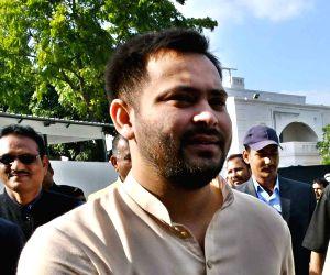 Tejashwi mocks Sushil Modi over crime in Bihar
