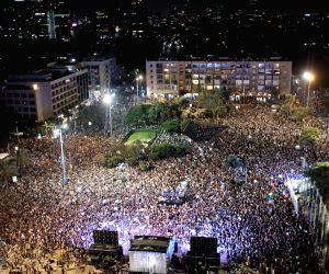ISRAEL-TEL AVIV-PROTEST-LGBT