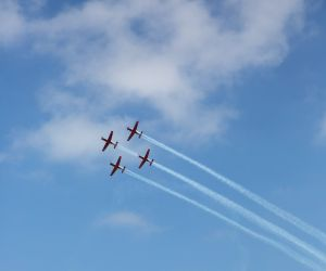 ISRAEL-TEL AVIV-INDEPENDENCE DAY-AIR SHOW