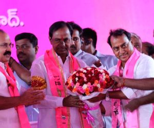 KCR at TRS plenary session