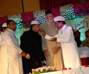 KCR during an Iftar party