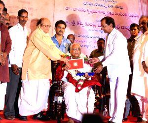 KCR participates in Dr. Daasharadhi Krishnamachaarya Jayanthi programme