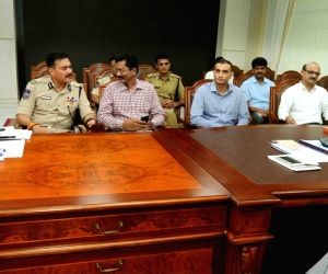 KCR during a meeting on drugs case